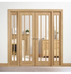 Internal Oak Room Dividers Image